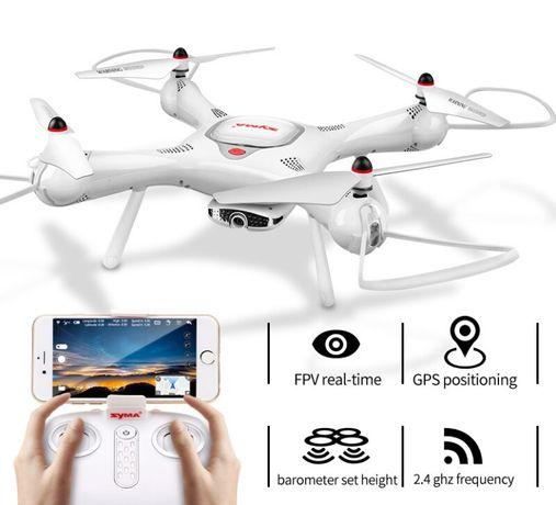 Zaawansowany Dron SYMA X25 PRO z GPS Kamerą FOLLOW ME Kompas Żyroskop