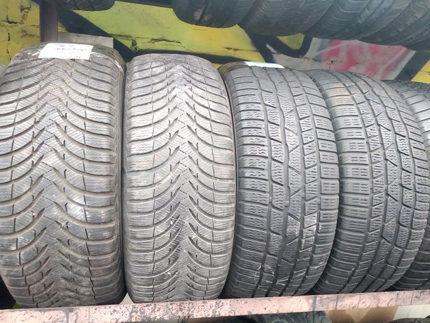 215 225/55r16 Michelin Continental Dunlop Bridgestone зима б/у шины