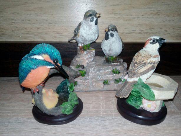 Figurk dekoracyjne ptaków