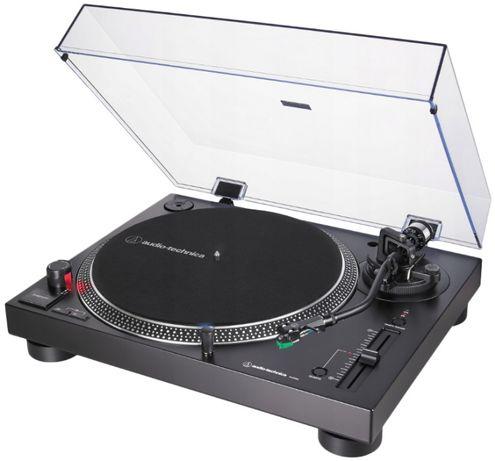 Gramofon Audio-Technica AT-LP120X-USB czarny lub srebrny, winyl