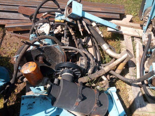 Silnik Perkins z pompą braud
