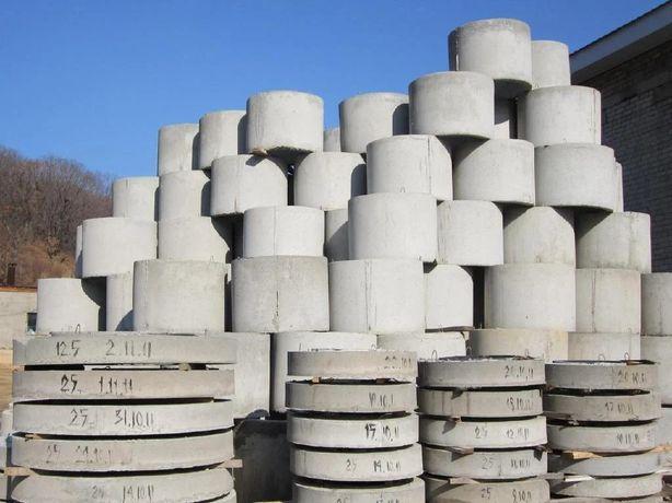 Кольца бетонные для воды и канализации