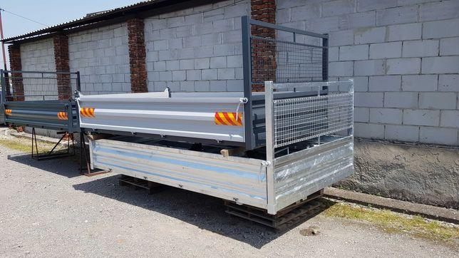 Zabudowa wywrotka kiper 3 stronna nowa produkcja Iveco Daily 340x210cm
