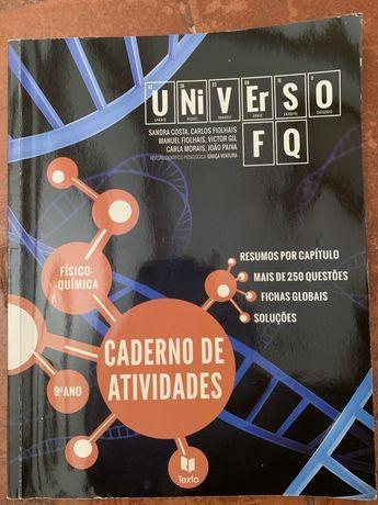 FQ 9 caderno de atividades Leya
