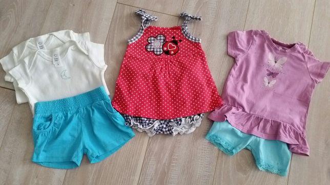 Zestaw r.68 Sukienka spodnie bluzka Reserved cool club