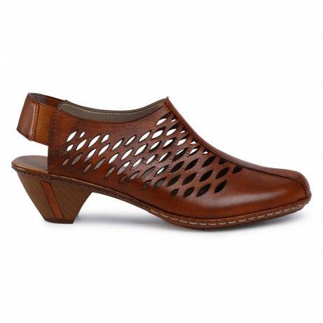 Skórzane buty Rieker