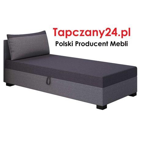 Łóżko Tapczan dziecięcy młodzieżowy jednoosobowy z pojemnikiem GRATIS