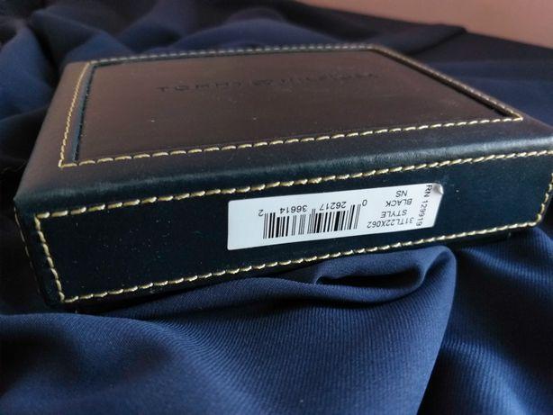 Продам оригинальный мужской кошелек из кожи от бренда Tommy Hilfiger