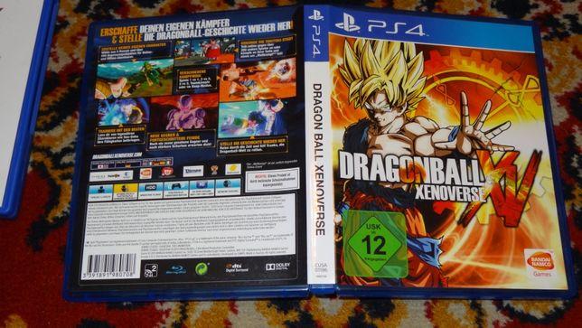 + Dragon Ball Xenoverse + gra na PS4, stan idealny