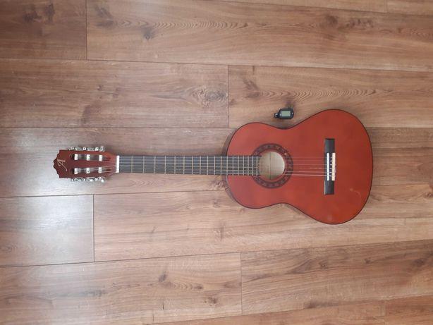 Gitara Alvera 3/4 pokrowiec kapodaster tuner pas
