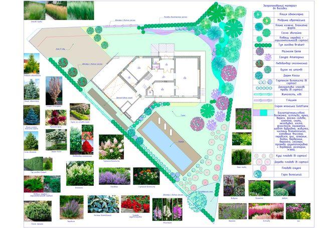 Ландшафтный дизайн, проектирование, благоустройство.