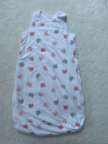 Śpiworek niemowlęcy 62-68 H&M nowy okazja + gratis wkładki laktacyjne