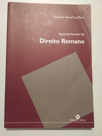 Apontamentos de Direito Romano - Eduardo Vera Cruz Pinto
