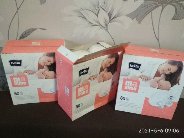 Вкладыши для груди для кормящих мамочек