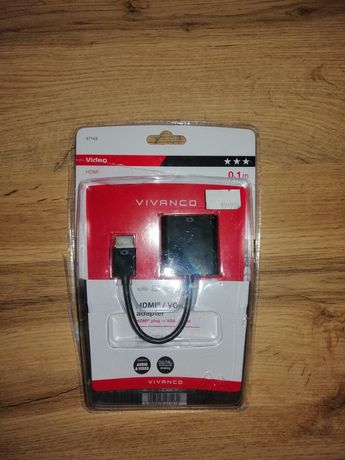 Adapter Hdmi / VGA nowy VIVANCO