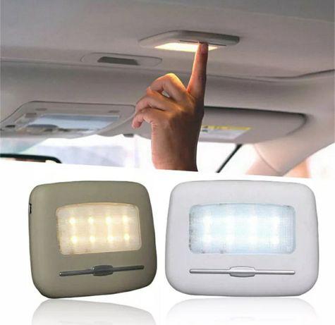 Светодиодный светильник для чтения на крыше автомобиля с USB