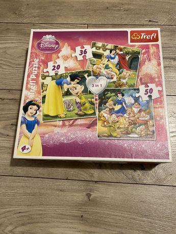 Puzzle trefl księżniczki, królewna śnieżka, disney
