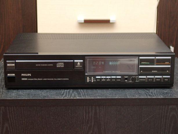 Известный CD плеер Philips CD304 (ЦАП TDA1540P, транспорт CDM-1)