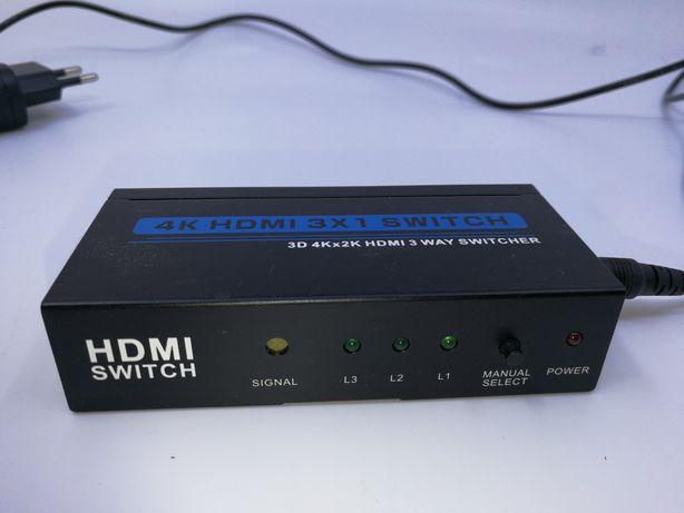 Hdmi switch l1 l2 l3 Manual select