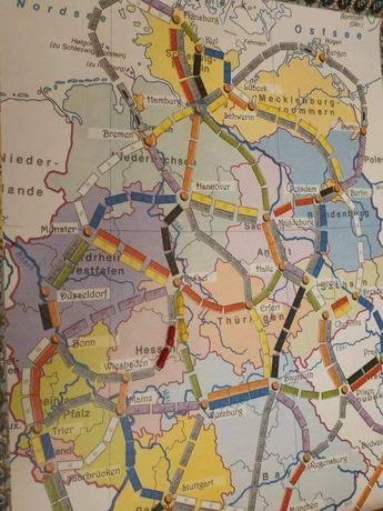 Дополнение «Билет на поезд» Ticket to Ride) Germany+United Kingdom