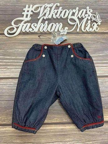 Брюки, штаны Jacadi для девочки 3мес (60см); 6мес (67см)