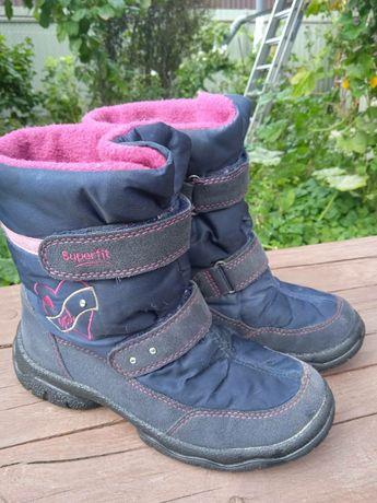 Зимние ботинки superfit 22 см