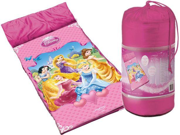 Śpiwór Disney księżniczki 65x150 Princess