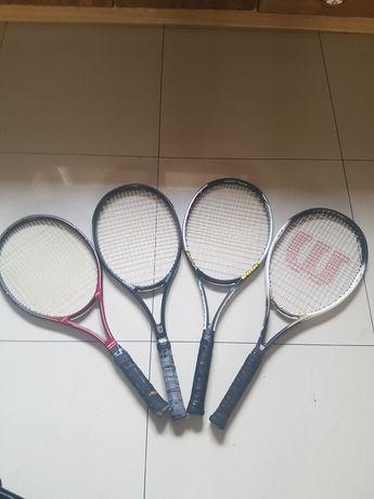 Rakiety tenisowe, Wilson, Dunlop, Quantum,Head+ 8 piłek