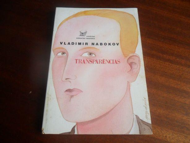 """""""Transparências"""" de Vladimir Nabokov - 1ª Edição de 1989"""