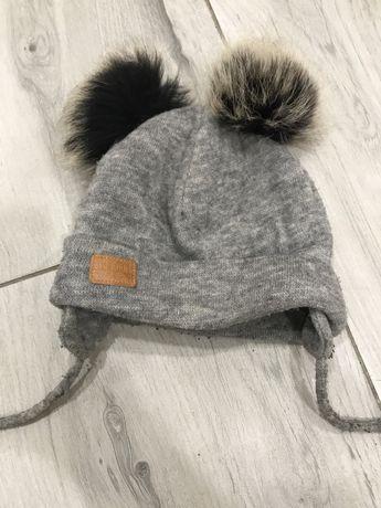 Зимова шапочка на флісі