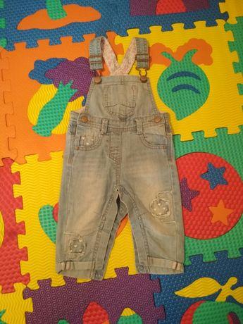 Дитячі джинси, джинси комбінезон