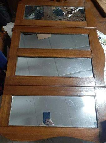 Espelho tridividido