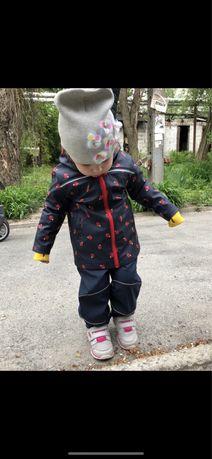 Костюм-дождевик/костюм от дождя/клеенчатый костюм 86-92 см