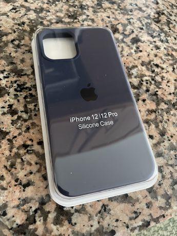 Capa azul escura para iPhone 12/12 Pro NOVA