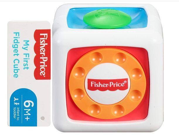 Fisher-Price мой первый кубик непоседы для 6+ месяцев
