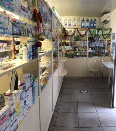 Аптечная мебель торговые витрины для аптеки магазина бежевая