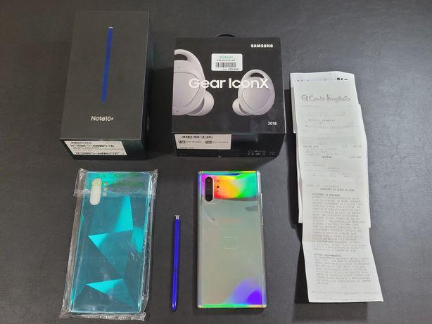 Vendo Samsung Note 10Plus + Gear Iconx