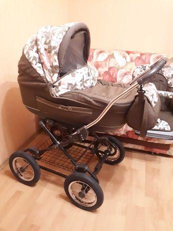 Коляска детская Roan Marita 2в1 люлька, прогулочная (Польша)