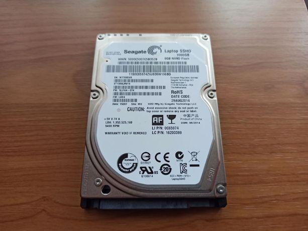 Dysk twardy hybrydowy 1TB (1000GB) SSHD 8 NAND Flash - Seagate 2.5