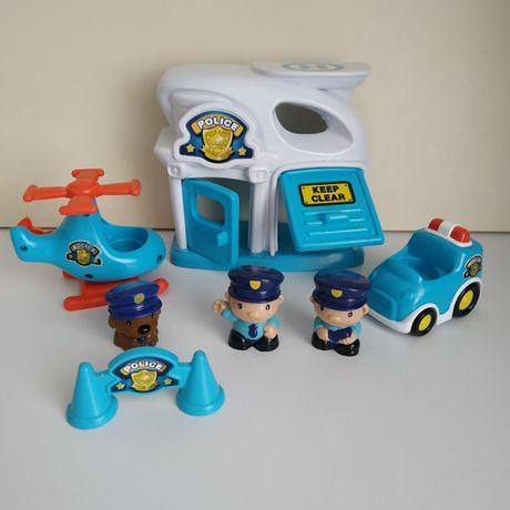Игровой полицейский набор  Keenway Mega City Police Station.