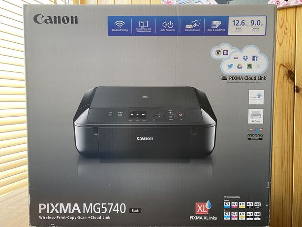 МФУ Canon Pixma MG5740 black