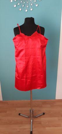 Koszula nocna czerwona L