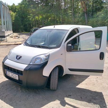 Peugeot bipper możliwość zamiany na większego busa