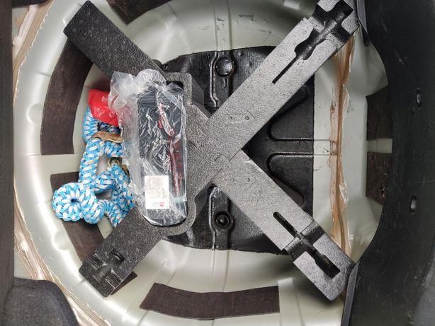 Alfa 159 wypełnienie koła zapasowego styropian do kompresora