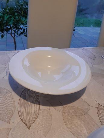 Biały talerz do pasty, makaronu, sałatki 30 cm średnicy