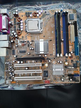 Motherboard p5p-lp + processador + ram