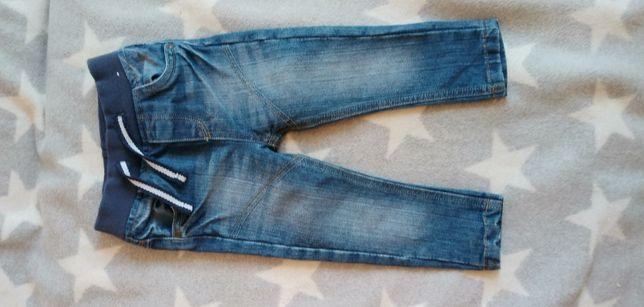 jeansy dziecięce roz. 86