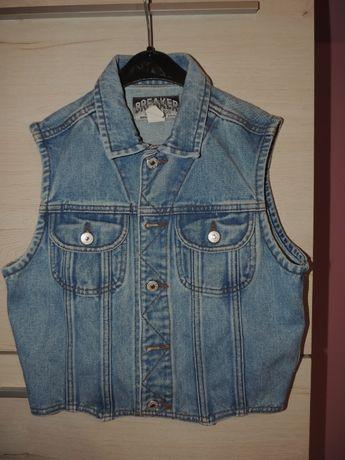Kamizelka jeans S/36