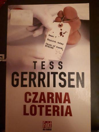 "Tess Gerritsen ,,Czarna loteria"""