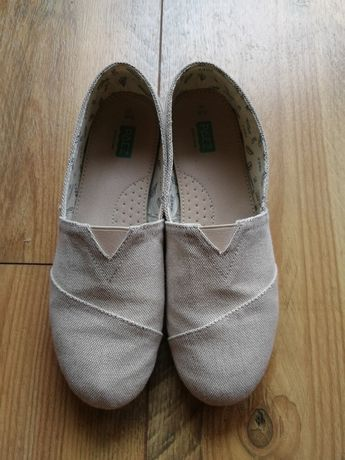 Peaz 40 26 cm buty wsuwane skóra slip on